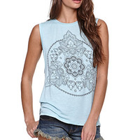 Workshop Henna Symbol Muscle Tee at PacSun.com