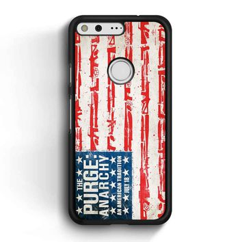 The Purge Anarchy Flag Google Pixel Case