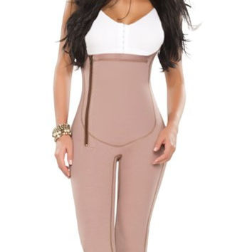 Liposuction Bodysuit Ankle Length Colombian Fajas