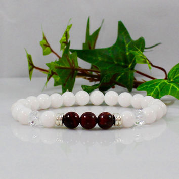 Women's Courage Root Chakra Bracelet