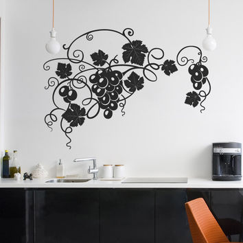 Vinyl Wall Decal Sticker Grapevine Whole #1273