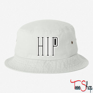 Cool Hip Hop Design 3 bucket hat