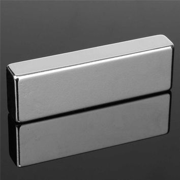 1PC N52 Block Neodymium Permanent Super Strong Magnet Rare Earth Magnet 60*20*10mm