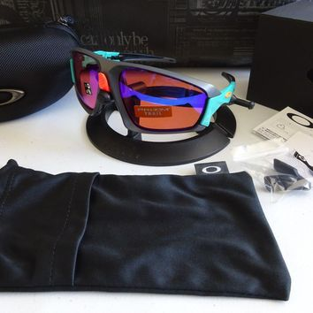 Oakley Field Jacket Matte Dark Grey Prizm Trail NIB RARE