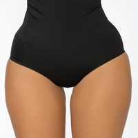 Tighten Up Shapewear Panty - Black