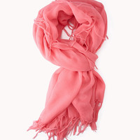 Knotted Fringe Scarf | FOREVER21 - 1042511351