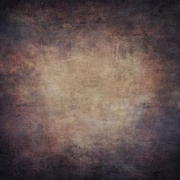 Printed Old Masters Blues And Pinks On Tan Textured Titanium (Fleece) Cloth Backdrop - 8x8 - LCTC6920 - LAST CALL