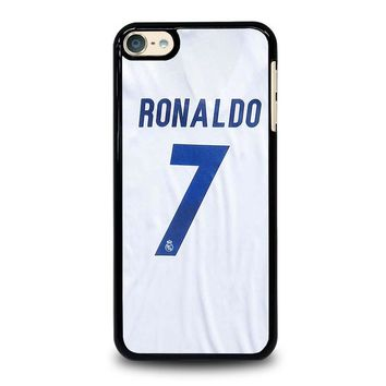 RONALDO CR7 JERSEY REAL MADRID iPod Touch 6 Case Cover
