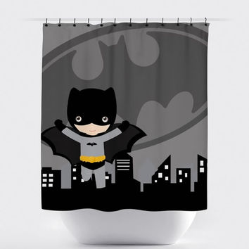 Shop Batman Shower Curtain on Wanelo