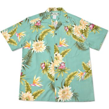 mountain hawaiian rayon shirt