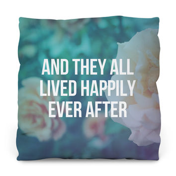 Ever After Outdoor Throw Pillow