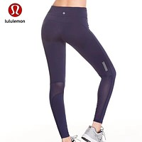 """lululemon"" Fashion Print Exercise Fitness Gym Yoga Running Leggings Sweatpants"