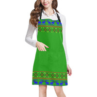 Ugly Sweater Deal With It All Over Print Apron | ID: D2399274