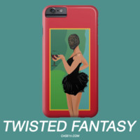 Kanye West Yeezy Yeezus Twisted Dark Fantasy IPhone 5 6 6s Plus Galaxy s5 s6 Phone Case - Case15