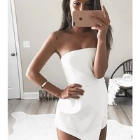 Yogi Playsuit - White - SHOP NEW