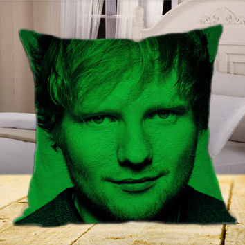 Ed Sheeran  on Square Pillow Cover