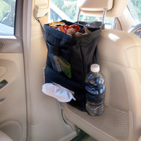 Evelots® Back Seat Headrest Litter Trash Bags
