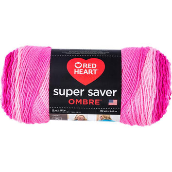 Red Heart Super Saver Ombre Yarn Jazzy