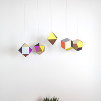 ModCloth Colorblocking Along Came Polygon Mobile