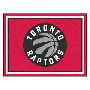 Toronto Raptors NBA 8ft x10ft Area Rug