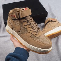 [Free Shipping ]Nike Air Force 1 N7 AT6167-200  Basketball Shoes