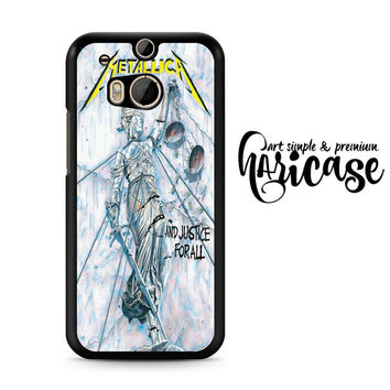 Metallica And Justice For All HTC One M8 | M9 Case