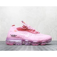NIKE Air Fashion New Mesh Women Men Air Cushion Sports Leisure Shoes Pink