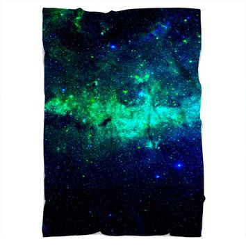 Green Galaxy Blanket