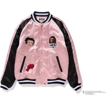 BETTY BAPE SOUVENIR JACKET LADIES