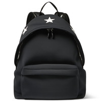 Givenchy - Star-Embossed Leather and Neoprene Backpack | MR PORTER
