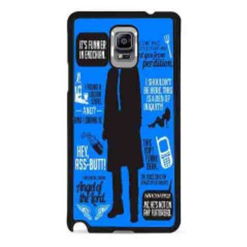 Cas Quotes Supernatural for samsung galaxy note 4 case