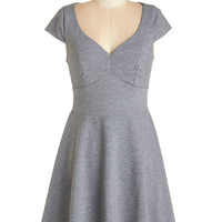 ModCloth Cap Sleeves A-line Best Martini Ever Dress