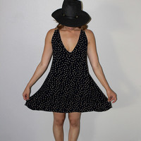 CATCH ME Mini Polka Dot Dress