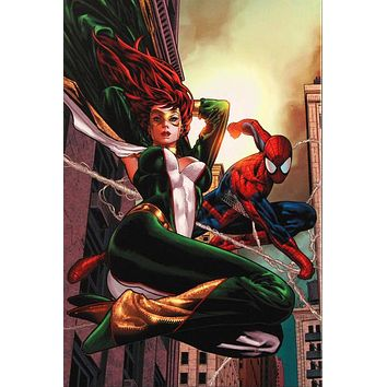 Amazing Spider-Man Family #6 - Limited Edition Giclee on Stretched Canvas by Paulo Siqueira and Marvel Comics