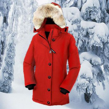 VLX2WL Canada Goose Canada Goose down jacket outdoor wear thick long section of female mountaineering ski suits [8979101191]