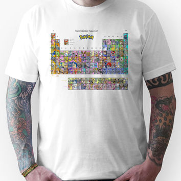 The Periodic Table Of Pokemon Unisex T-Shirt