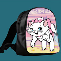 marie cat disney for Backpack / Custom Bag / School Bag / Children Bag / Custom School Bag ***