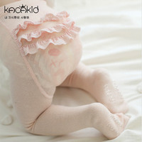 Korean Thickened Baby Princess Winter Tights Pantyhose Big PP Lace Tights Infantil Menina Kids Clothes Girls Accessory (KT003)