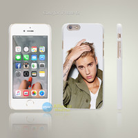 hg48 justin bieber music singer celebrity Style Hard White Case Cover Coque for iPhone 4 4s 4g 5 5s 5g 5c 6 6s 6 6s Plus