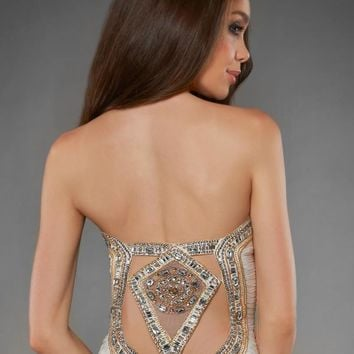 Shimmer 59844 at Prom Dress Shop