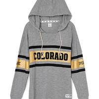 University of Colorado Varsity Pullover Hoodie - PINK - Victoria's Secret
