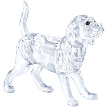 Swarovski Crystal Animal DOG Figurine BEAGLE, CLEAR - 5135917