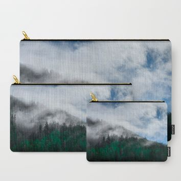The Air I Breathe Carry-All Pouch by Mixed Imagery