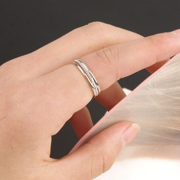 Unique Simple Rings Tail Ring AnaeCadeau Gift-207