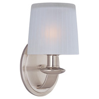 Sconces, Chelsea 1-Light Wall Sconce, Nickel, Sconces