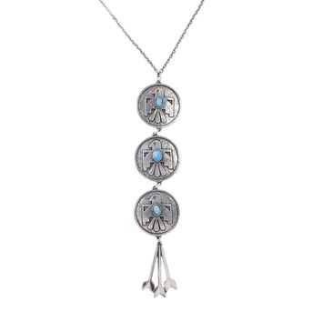 Cher's Thunderbird Necklace (view more colors)