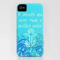 Smooth Sea iPhone Case by Kayla Gordon | Society6