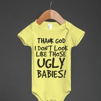 Thank God I don't look like those ugly Babies | From Bows To Toes