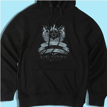 Saving People, Hunting Things, The Family Business Men'S Hoodie