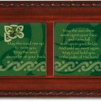 Irish Road Celtic Petite Woodgrain Music Jewelry Box Plays When Irish Eyes are Smiling